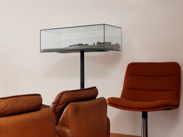 Ausstellungsvitrine Im Wohnzimmer