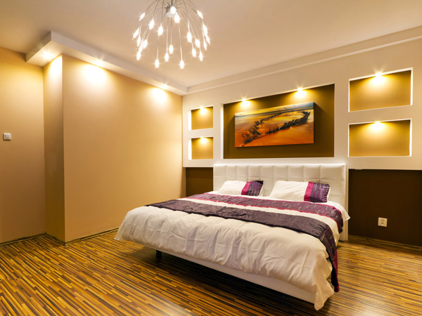 Lichtgestaltung Und Beleuchtung - Ideen Und Informationen Bilder Von Licht Im Schlafzimmer