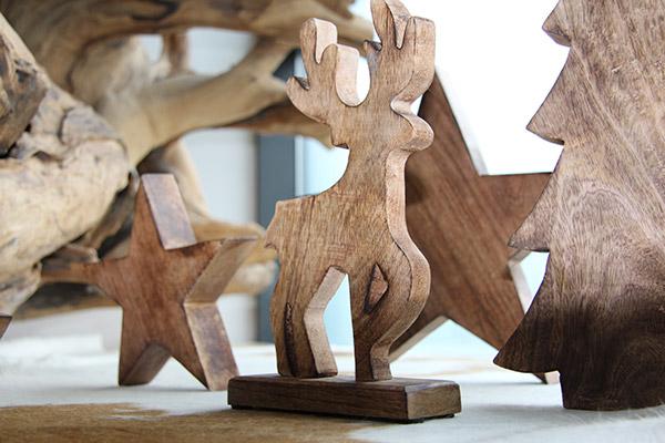 holzelch weihnachtsdekoration aus holz holzelch - Weihnachtsdekoration Aus Holz