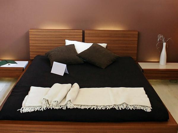 Indirekte Beleuchtung Hinter Dem Bett