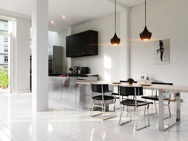 Farben in der Küche - So wird die Küche bunt - Tipps von Wandtattoo.de