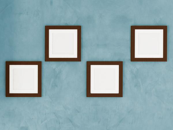 Rahmen Als Muster Anordnen.