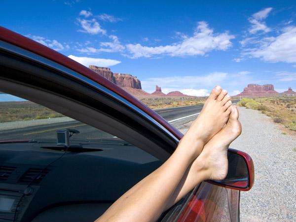 Roadtrip im Urlaub