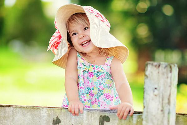 süßes Mädchen