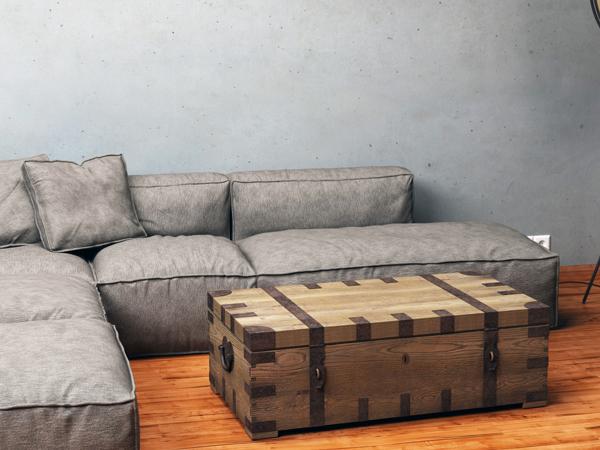 Stauraum im wohnzimmer kreative tipps f r mehr ordnung for Wohnzimmertisch truhe