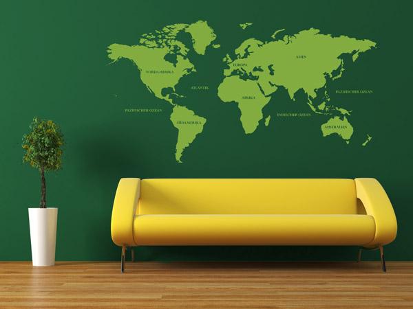 color blocking an der wand und in der wohnung einrichtungsideen. Black Bedroom Furniture Sets. Home Design Ideas
