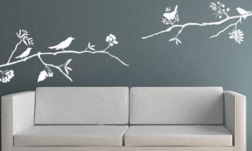 kreative wandtattoo motive bei sch ne motiv. Black Bedroom Furniture Sets. Home Design Ideas