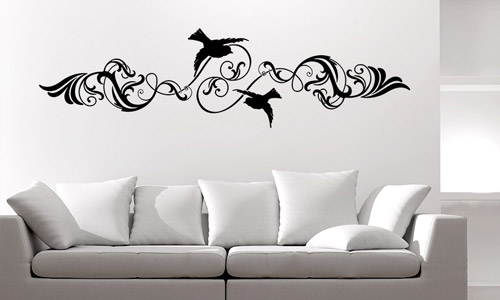 wandtattoo wohnideen f r alle r ume im haus wandtattoo de. Black Bedroom Furniture Sets. Home Design Ideas