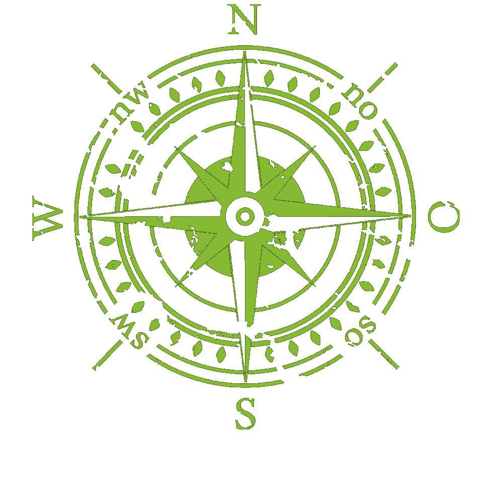 Wandtattoo himmelsrichtungen wandtattoo kompass von - Wandtattoo kompass ...