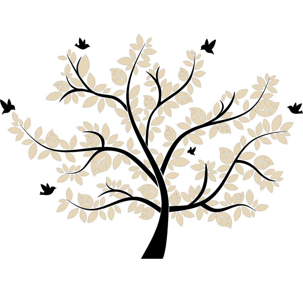 DESIGNSCAPE® XXL Wandtattoo Baum - Wandtattoo Lebensbaum  eBay