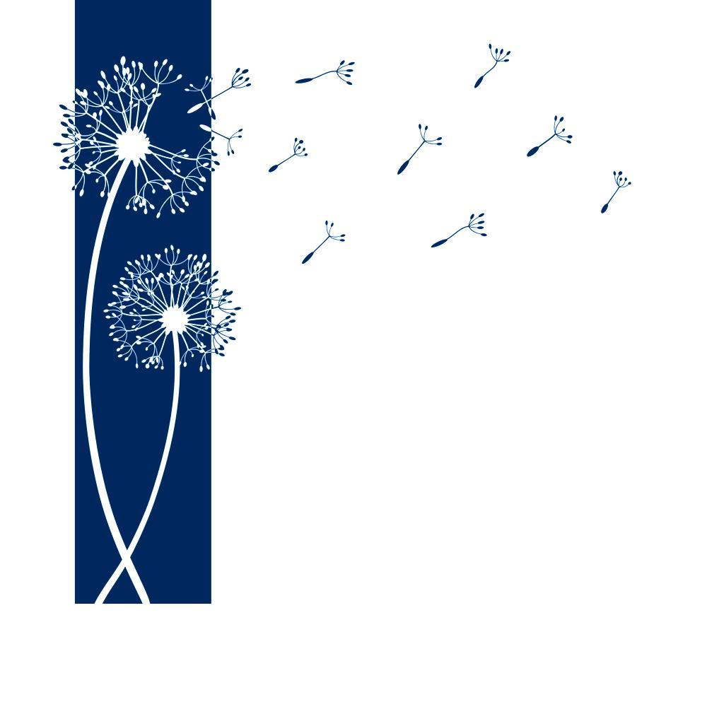 Designscape wandtattoo banner pusteblumen pusteblume - Wandtattoo pusteblume amazon ...