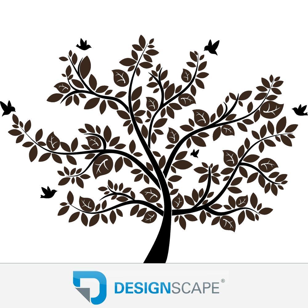 XXL Wandtattoo Baum - Wandtattoo Lebensbaum von DESIGNSCAPE®  eBay