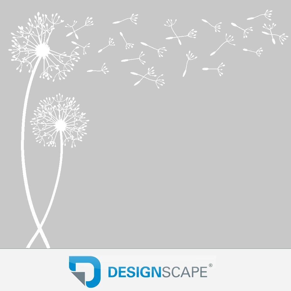 Wandtattoo pusteblumen traumhafte pusteblume als wanddeko von designscape ebay - Wandtattoo pusteblume amazon ...