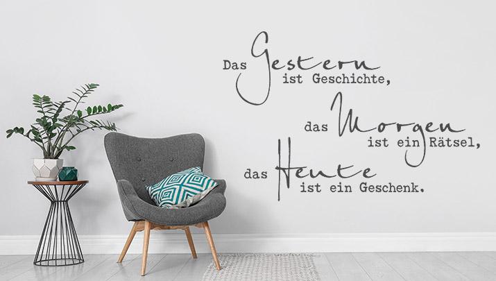 Wandtattoo Spruche Zur Wandgestaltung Wandtattoo De