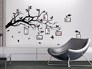 wandtattoo fotorahmen von bilderrahmen. Black Bedroom Furniture Sets. Home Design Ideas