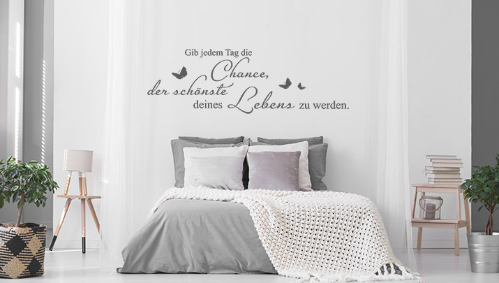 Wandtattoo aus der Kategorie Motivation
