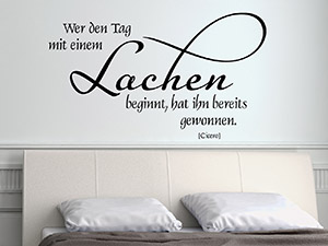 wandtattoo zitate und kreative wandspr che wandtattoo de. Black Bedroom Furniture Sets. Home Design Ideas