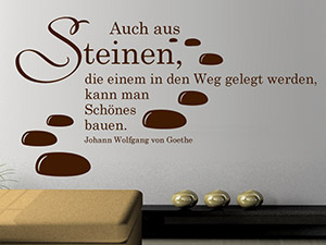 wandtattoo zitate als motivationshilfe motivation. Black Bedroom Furniture Sets. Home Design Ideas