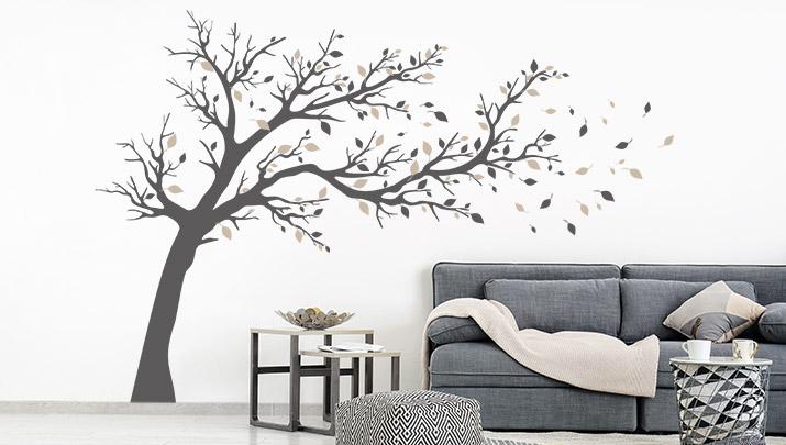 Wandtattoo Baume Eindrucksvolle Baum Motive Wandtattoo De
