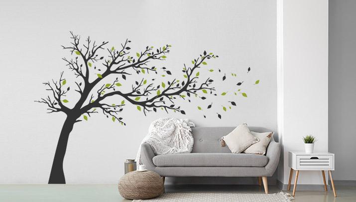 Wandtattoos fürs Wohnzimmer  kreative Motive  WANDTATTOO.DE