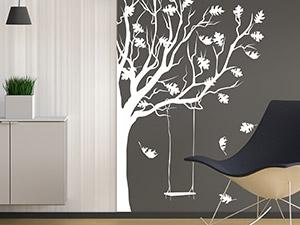 wandtattoo wohnideen f r wohnzimmer schlafzimmer k che. Black Bedroom Furniture Sets. Home Design Ideas