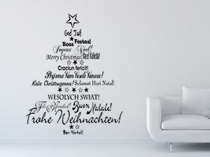 Weihnachten wandtattoos weihnachtsdeko f r w nde for Winterdekoration fenster