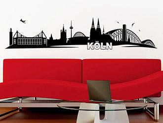 Wandtattoo Köln