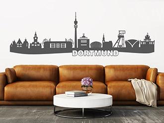 Wandtattoo Dortmund