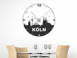 Wandtattoo Uhr Köln