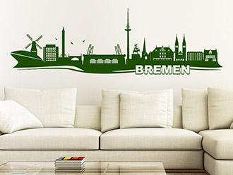 Wandtattoo Bremen