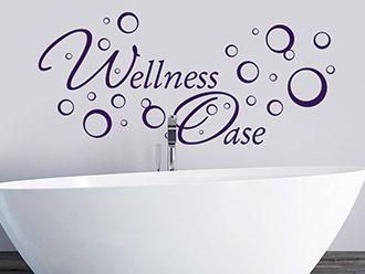 Wandtattoo Worte fürs Bad | Akzente im Badezimmer | WANDTATTOO.DE