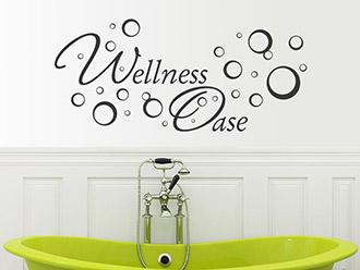 Wonderful Wandtattoo Wellness Oase
