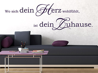 weisheiten als wandtattoo lebensweisheiten wandtattoo de. Black Bedroom Furniture Sets. Home Design Ideas