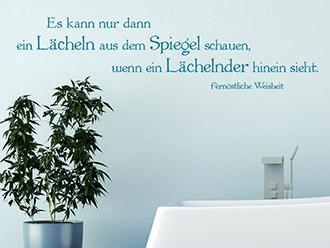 Wandtattoos fürs Bad | Badezimmer Wandsticker | Bilderwelten.de