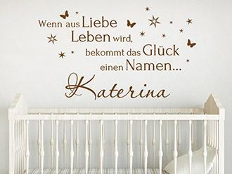 Wandtattoos Fur Madchen Babyzimmer Baby Motive Wandtattoo De