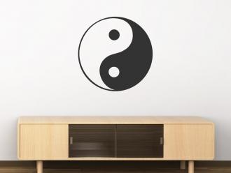 Wandtattoo Chinesisch Yin & Yang