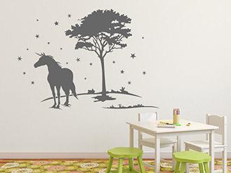 stern wandtattoos sternenhimmel mond und sterne. Black Bedroom Furniture Sets. Home Design Ideas