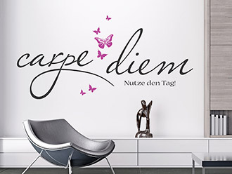 wandtattoo latein bei lateinische spr che und zitate als wandtattoos. Black Bedroom Furniture Sets. Home Design Ideas