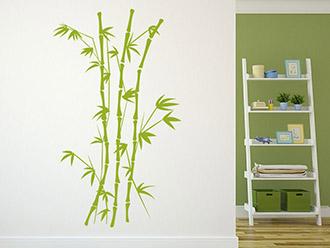Wandtattoo Filigraner Bambus