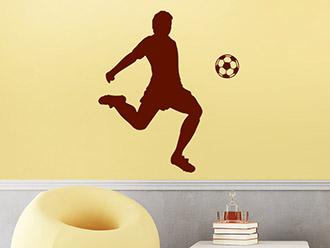 Wandtattoo Fußball Künstler
