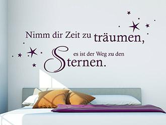 Traumhafter Wandtattoo Sprüche zum Thema Traum | WANDTATTOO.DE