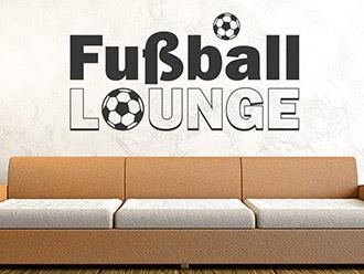 Wandtattoo Fußball Lounge