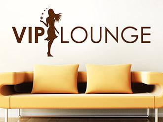 Wandtattoo Vip Lounge mit Sternen