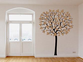 Wandtattoo Großer Baum