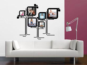 wandtattoo banner dreiecke von. Black Bedroom Furniture Sets. Home Design Ideas