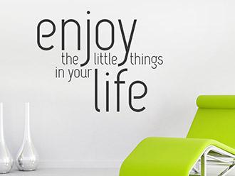 Wandtattoo Enjoy life