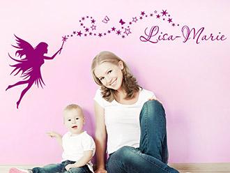 Kinderzimmer wandgestaltung feen  Wandtattoos für das Kinderzimmer | schöne Motive | WANDTATTOO.DE