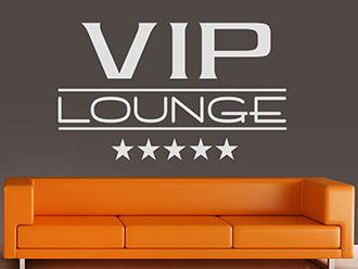Wandtattoo 5-Sterne VIP Lounge