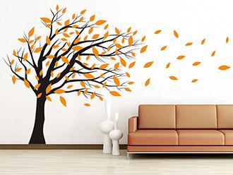 wandtattoos f rs wohnzimmer kreative motive wandtattoo de. Black Bedroom Furniture Sets. Home Design Ideas