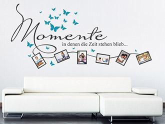 wandtattoo banner fashionista von. Black Bedroom Furniture Sets. Home Design Ideas